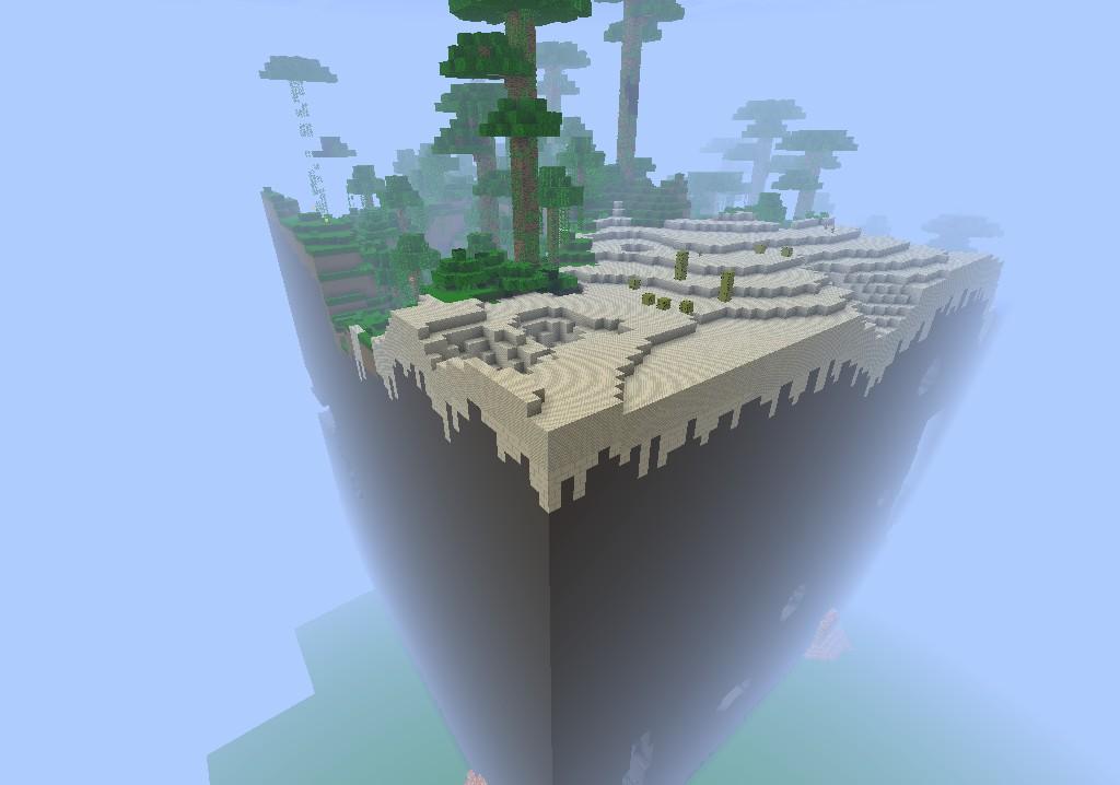 Glitched Super Flat Seed Minecraft Project