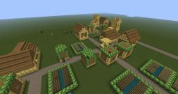 Funniest game ever in rich village! Minecraft Map & Project