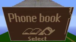 Working redstone Nokia 5110 simulator with 4032px display! Minecraft