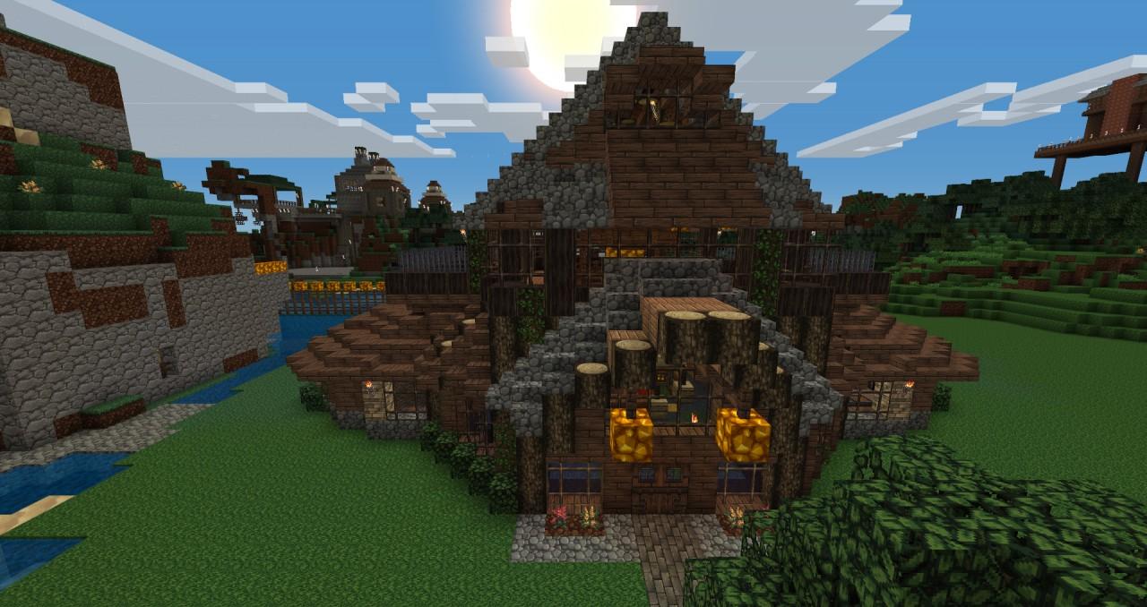 Oakwood Estates Minecraft Project