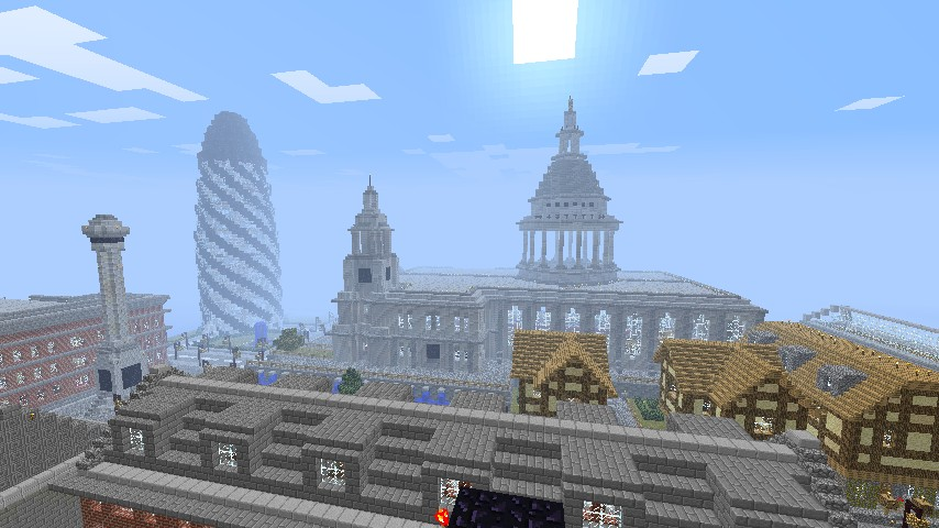 Many of our London based Landmarks. St.Pauls Cathedral and the Gherkin being the main features.