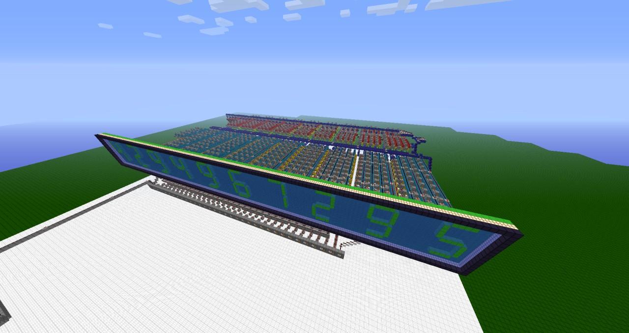 32 Bit Binary To Seven Segment Decoder Minecraft Project Display Bcd 7