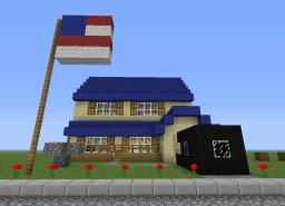 American Dad-the house Minecraft Map & Project