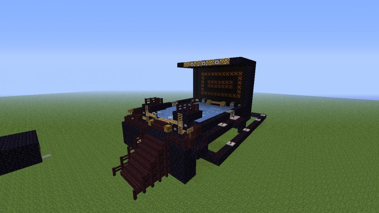 minecraft pinball machine
