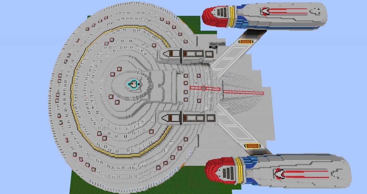 Star Trek - USS Renegade - New Orleans Class Minecraft Project