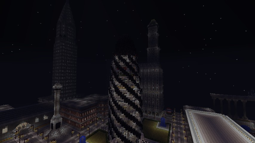 The Gherkin London Landmark Minecraft Project