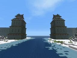 Large Japanese Tower Minecraft Map & Project