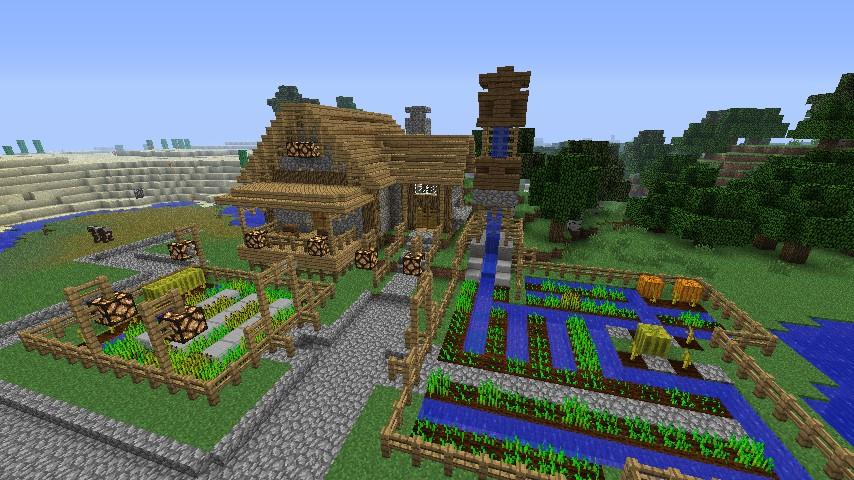 Sjin S Let S Build A Village Close Minecraft Project