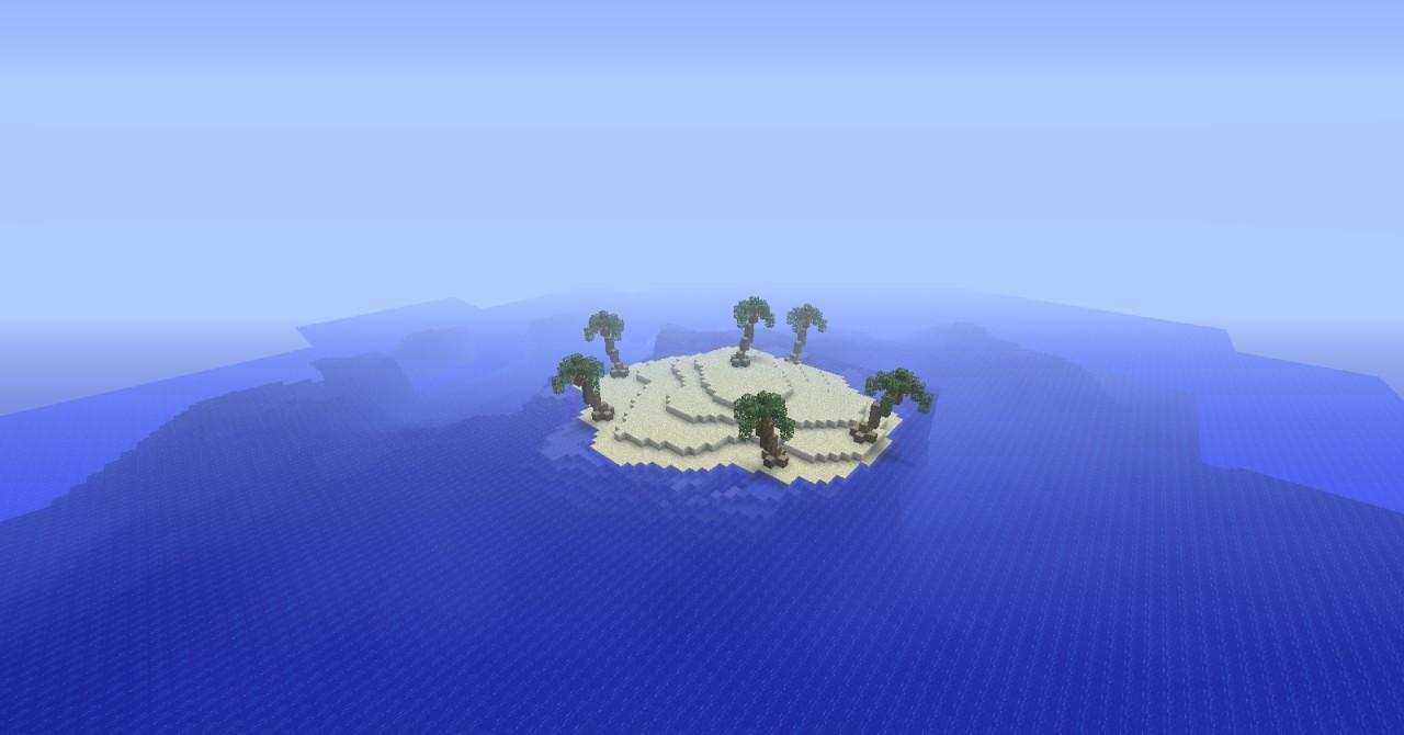 Minecraft Tropical Island