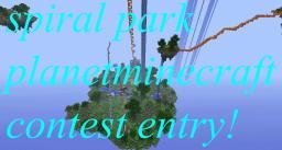 spiral park (contest) *spiral coaster reaches height limit!* Minecraft Map & Project