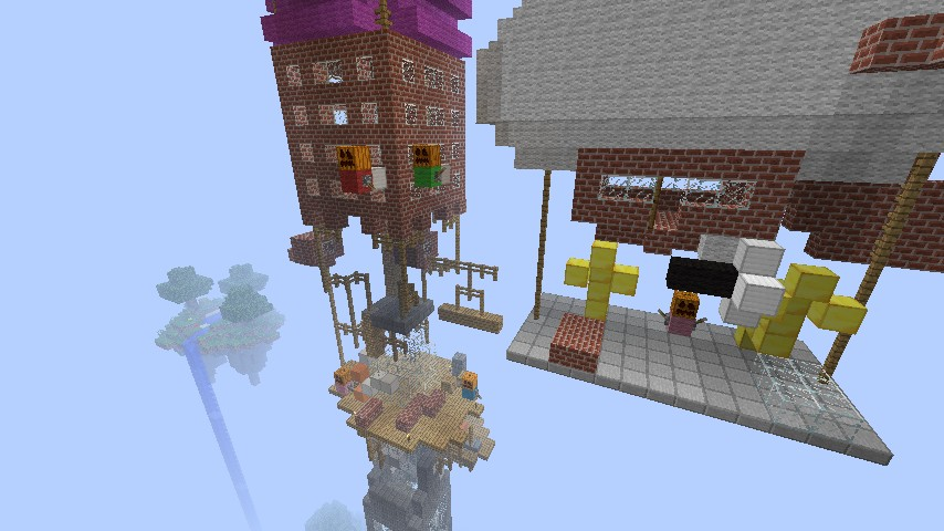 Phineas And Ferb Tower Minecraft Project