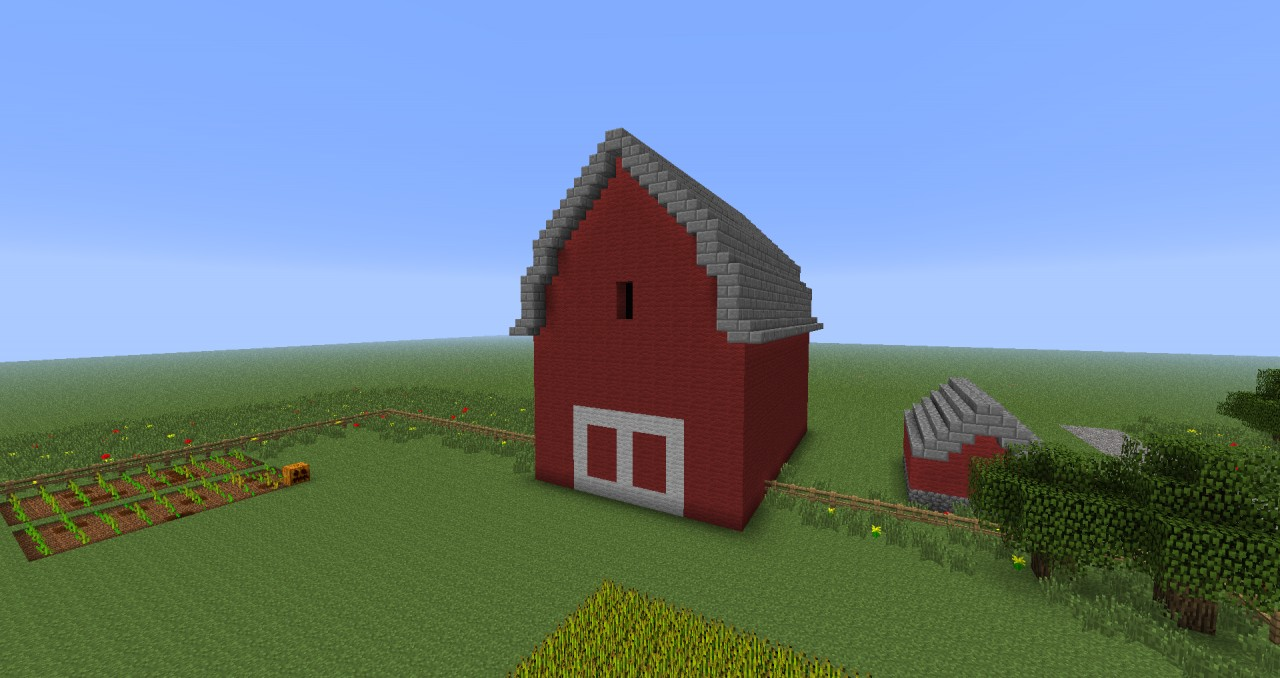Hershel's Farm (The Walking Dead Comic Book) Minecraft Project