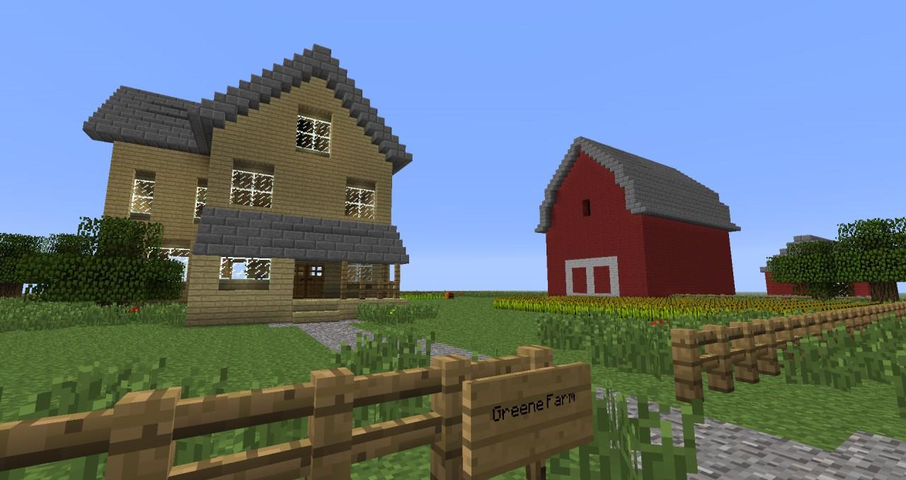 Hershel S Farm The Walking Dead Comic Book Minecraft Project