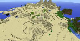 Desert Temple & Village Seed Minecraft Map & Project