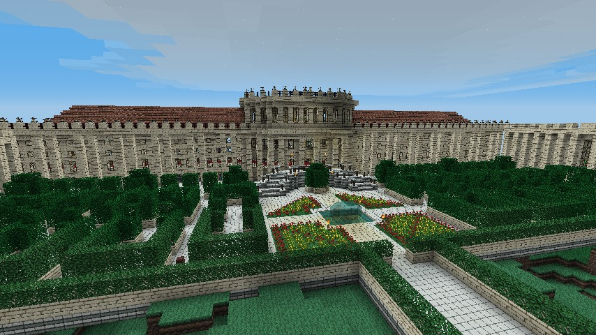 IceCraft Palace Minecraft Project