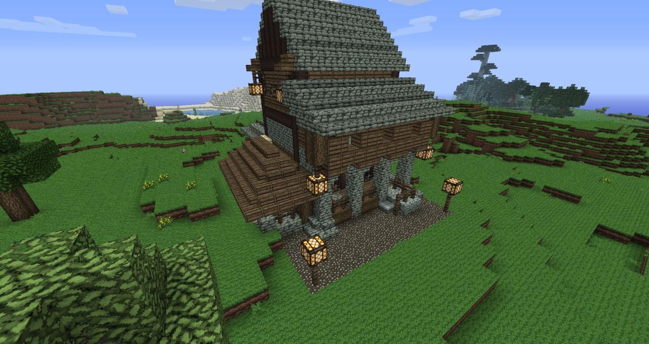 Small Medieval Tavern Minecraft Project
