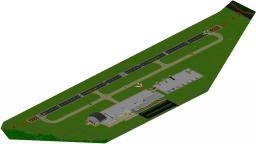 Small Airfield - Rainbow air Minecraft