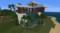 Beachfront Home Minecraft Map & Project