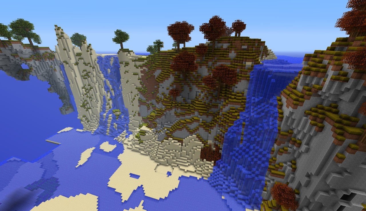 Custom Terrain Deep Valley