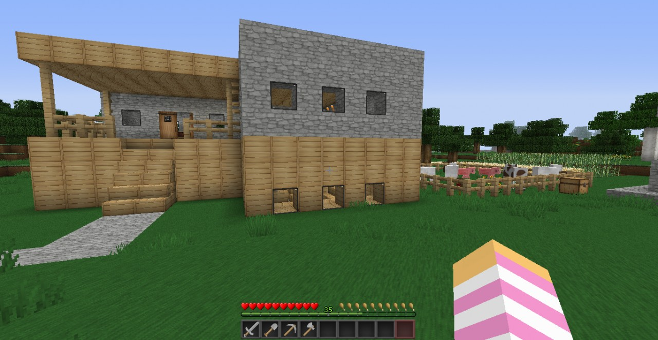 survival starter house!!!!!!! Minecraft Project