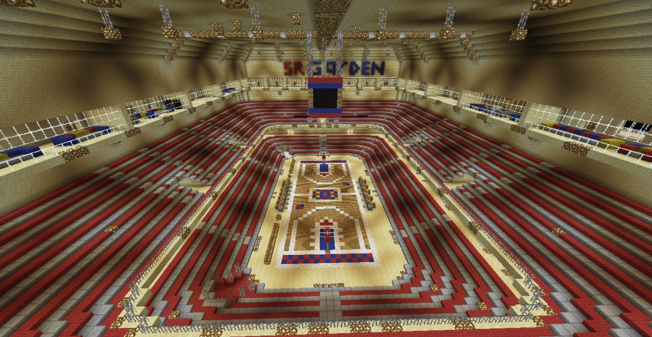 Basketball Arena By Celticsmaster11 Minecraft Project
