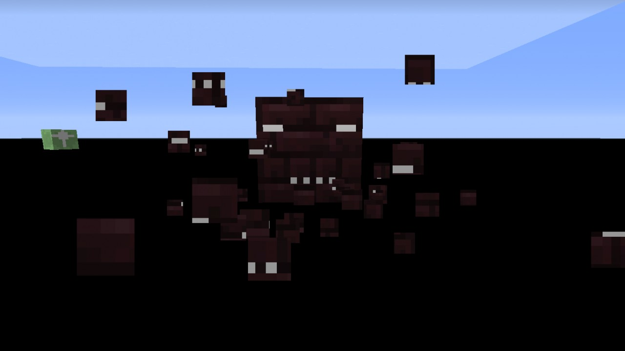 Particles and nether brick