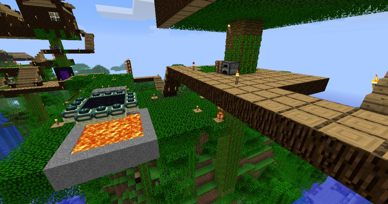 Achievement Hunter Treehouse Minecraft Project