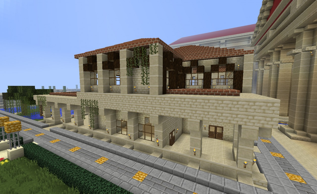 Minecraft Roman Builds
