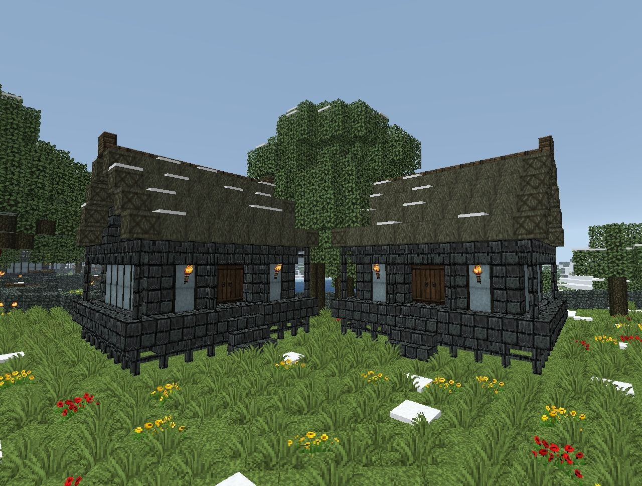 Japanese House Designs Minecraft Project