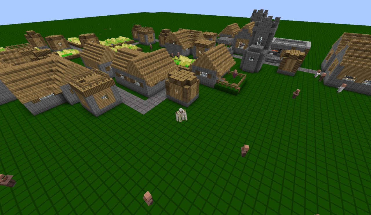 50+ Villagers!