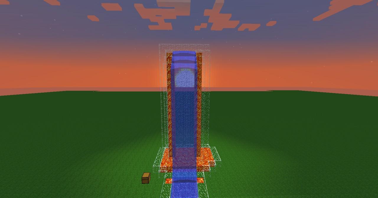 Lava/Water Fall #1 Minecraft Project