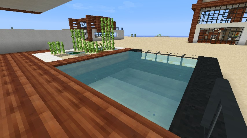 Pool Out Front