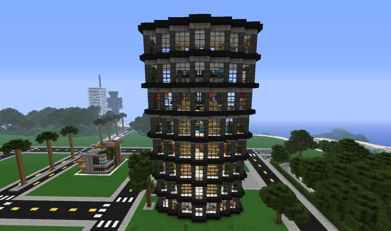 Slanted Valley Interior Design Building  Wok  Minecraft Project