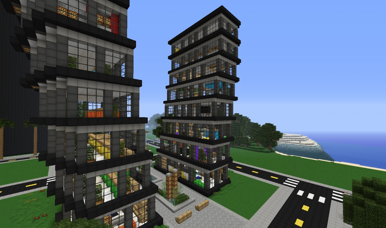 minecraft buildings designs interior design building