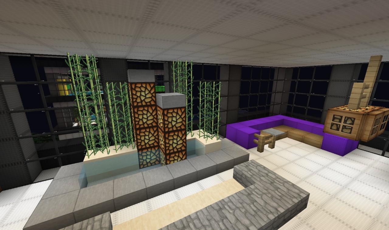 Minecraft interior design slanted valley interior design for Interior designs minecraft