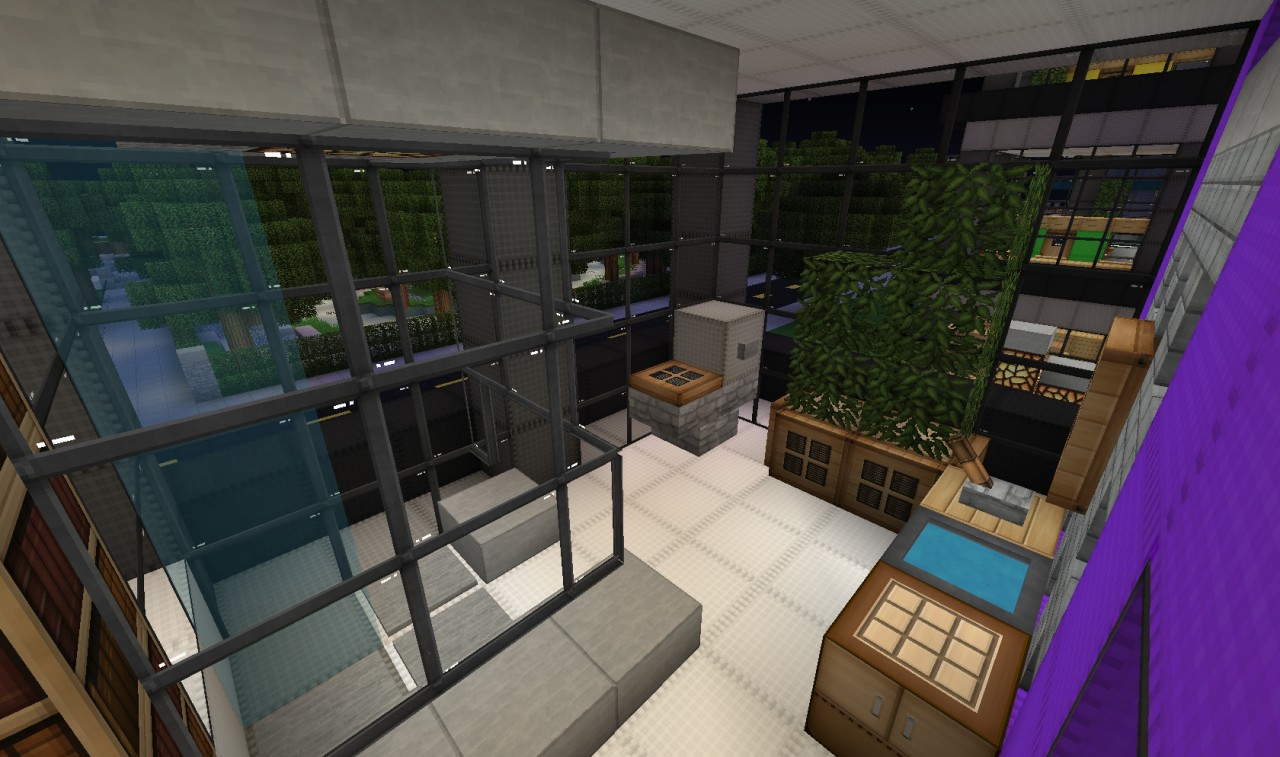 slanted valley interior design building wok minecraft On interior designs minecraft