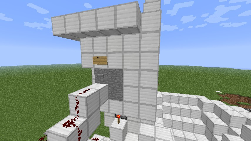 Minecraft Toilet Seat That Flush With Redstone Minecraft Project