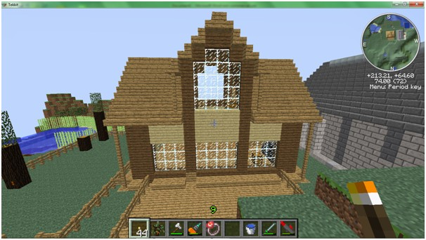 good house design minecraft project