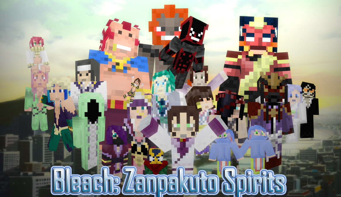 BLEACH: Zanpakuto Spirit Skin Series (links to Bleach:Legends) Minecraft Blog