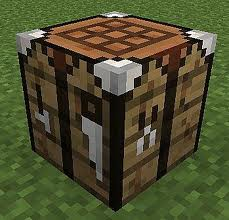 how to open shaped crafting in minecraft