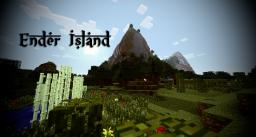 Ender Island - A Difficult Island Survival Map [1.7.4 Dungeons, Terraformed, Caverns, Ores, Custom Villager Trades] Minecraft Map & Project