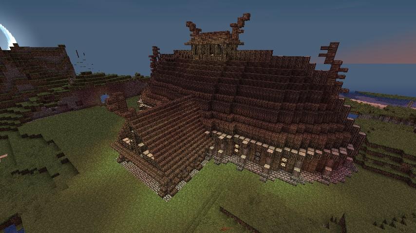 Jorrvaskr - Skryrim - Server PVP Minecraft Project