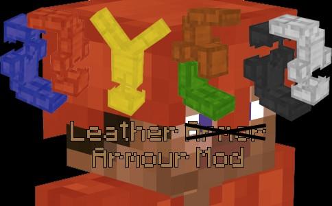 Minecraft Leather Mod Armor Mod Minecraft Mod