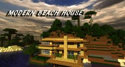 Modern Beach House Minecraft