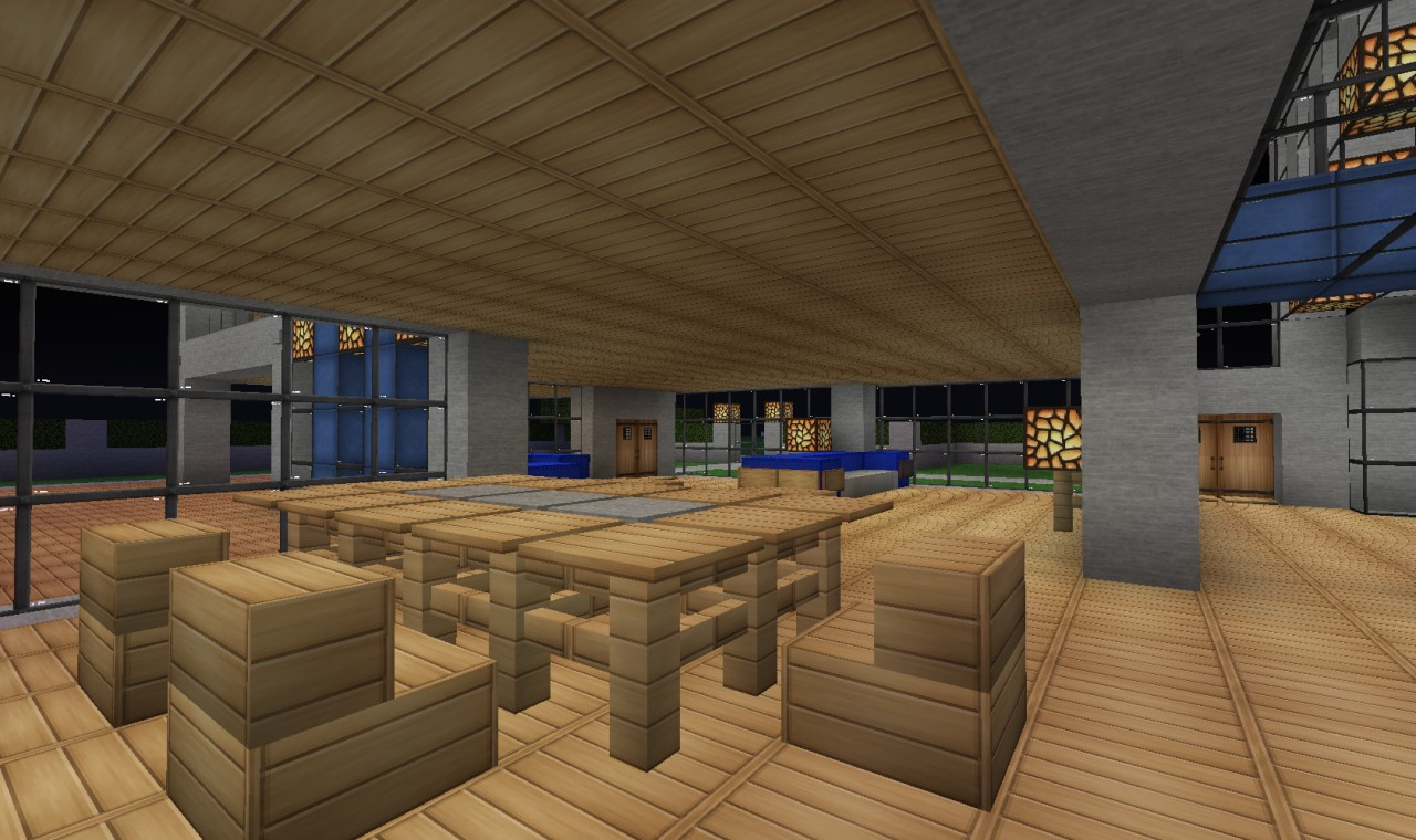 Modern house 5 menix house series minecraft project for Modern house 5