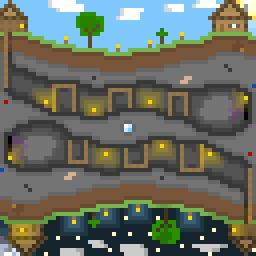 My very first pixel art -New HD Pic- © Minecraft