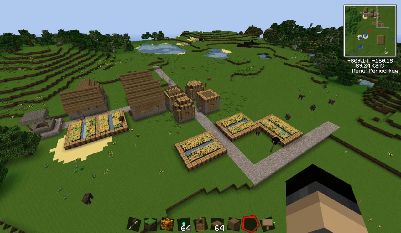 Nice Village Right By Spawn
