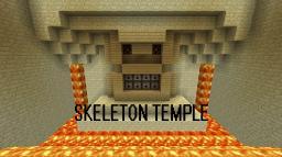 Skeleton Temple Mini Boss Fight Minecraft Map & Project