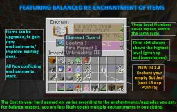 SUPERIOR ENCHANTING SYSTEM for Minecraft 1.4.5