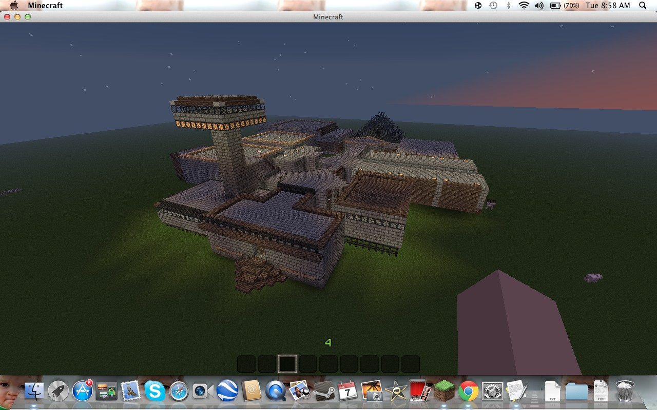 Minecraft House Zombie - Harbolnas n